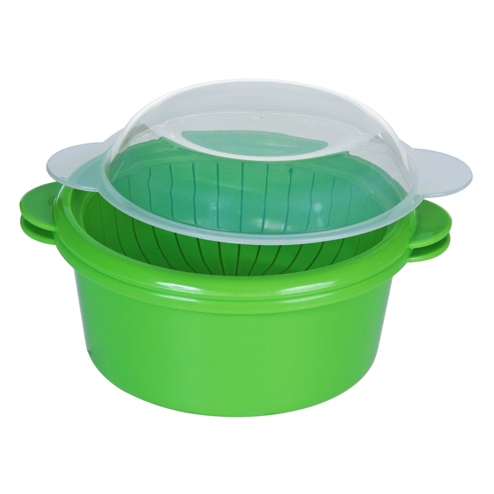 Progressive Prepworks Green Microwavable Mini Steamer