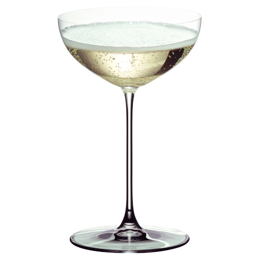 Riedel Veritas Leaded Crystal Moscato and Coupe Glass, Set of 2