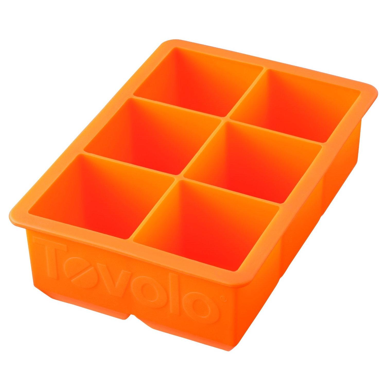 Tovolo King Cube Orange Peel Silicone Ice Tray