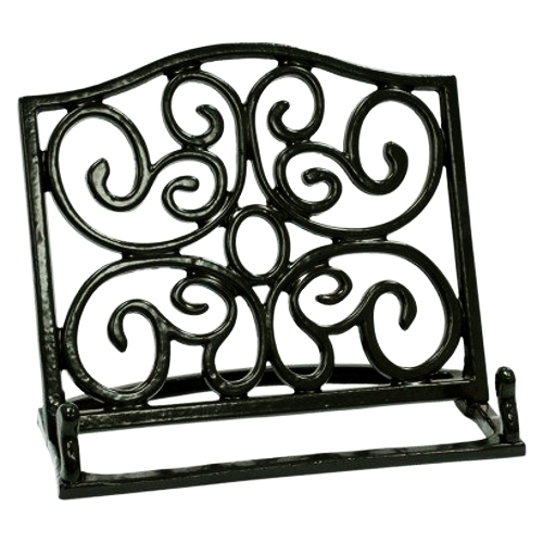 Anchor Hocking Venetian Bronze Cast Iron Cookbook Holder