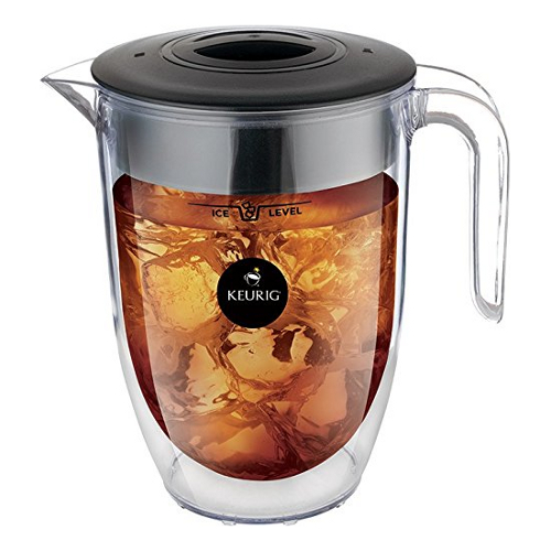 Keurig Brew Over Ice Double Walled Pitcher, 32 Ounce
