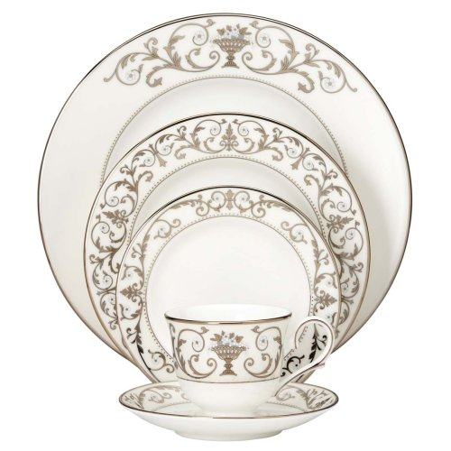 Lenox Autumn Legacy Bone China 5 Piece Dinnerware Set, Service For 1