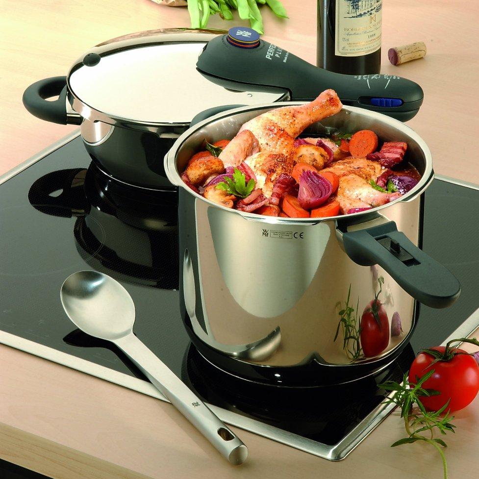 WMF Perfect Plus 8.5 Quart and 4.5 Quart Pressure Cooker Set