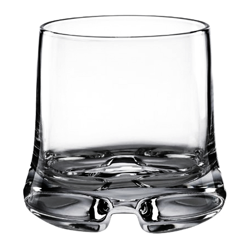 Dansk Kobenstyle 10 Ounce Double Old Fashioned Glass, Set of 4