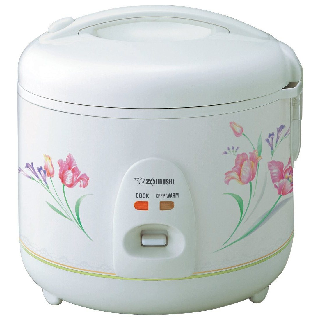 Zojirushi White Ballerina 5.5 Cup Automatic Rice Cooker