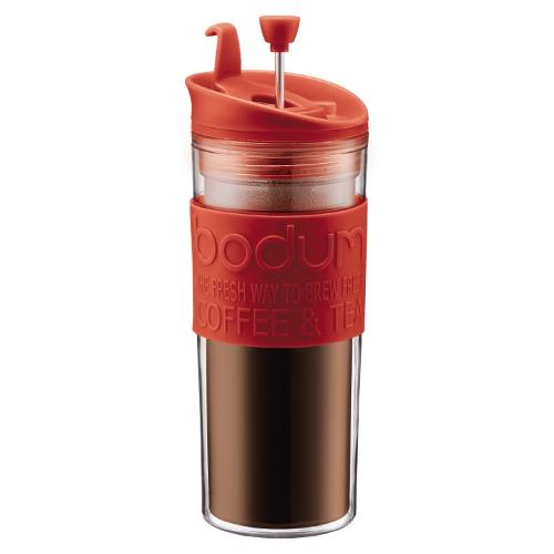 Bodum Travel Press Red 15 Ounce Coffee Maker