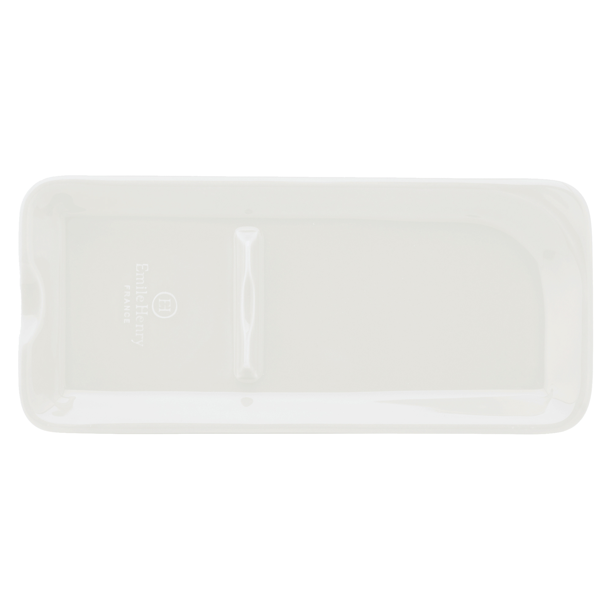 Emile Henry Nougat Ceramic 9 x 4 Inch Spoon Rest