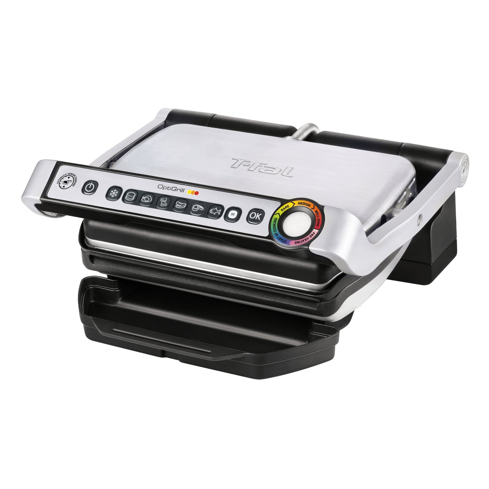 Emeril by T-Fal Brushed Stainless Steel OptiGrill
