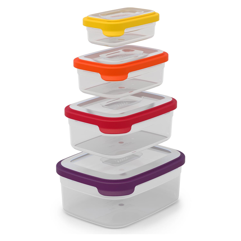 Joseph Joseph Nest 4 Piece Leftover Storage Container Set