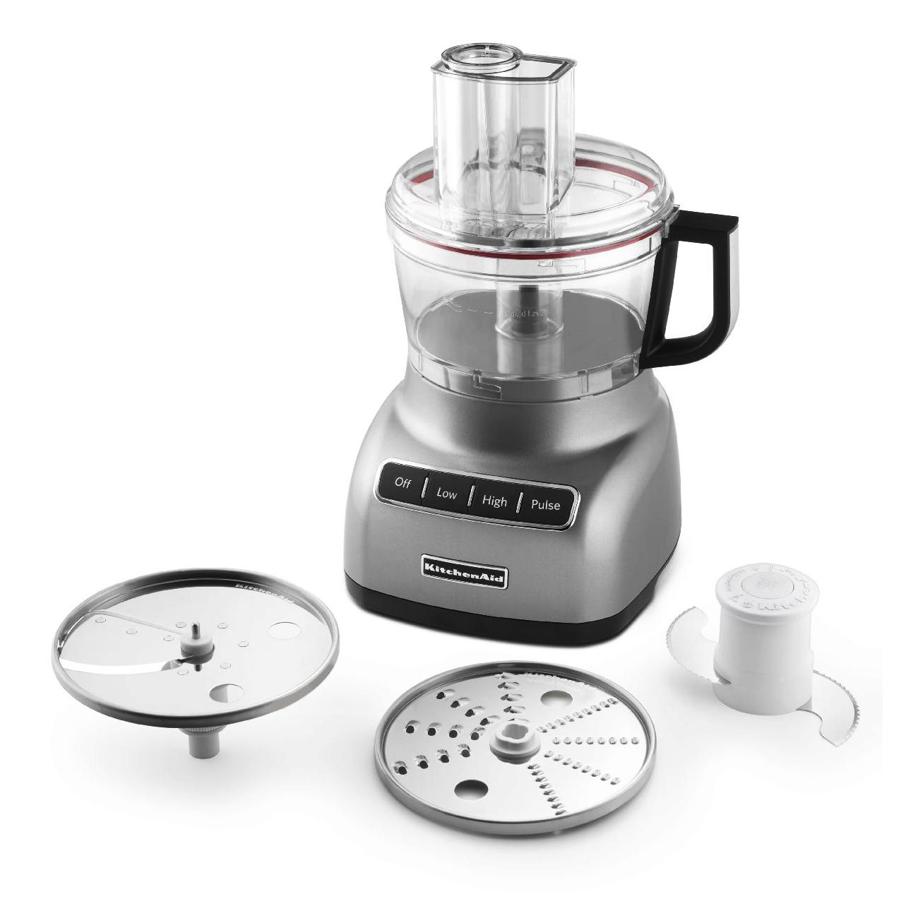 KitchenAid Contour Silver 7-Cup Food Processor
