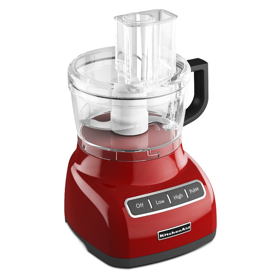 KitchenAid Empire Red 7-Cup Food Processor