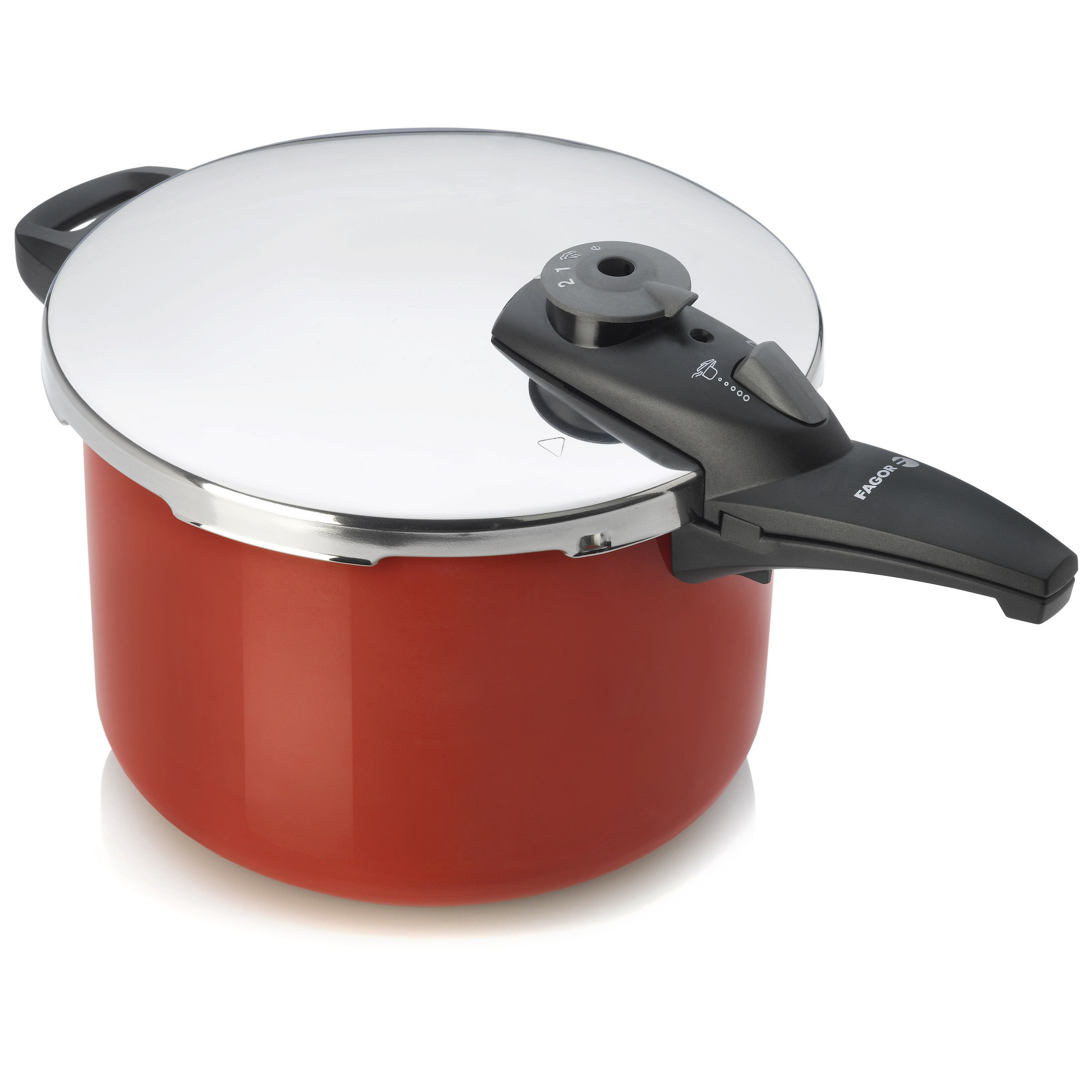 Fagor Cayenne Stainless Steel 8 Quart Pressure Cooker