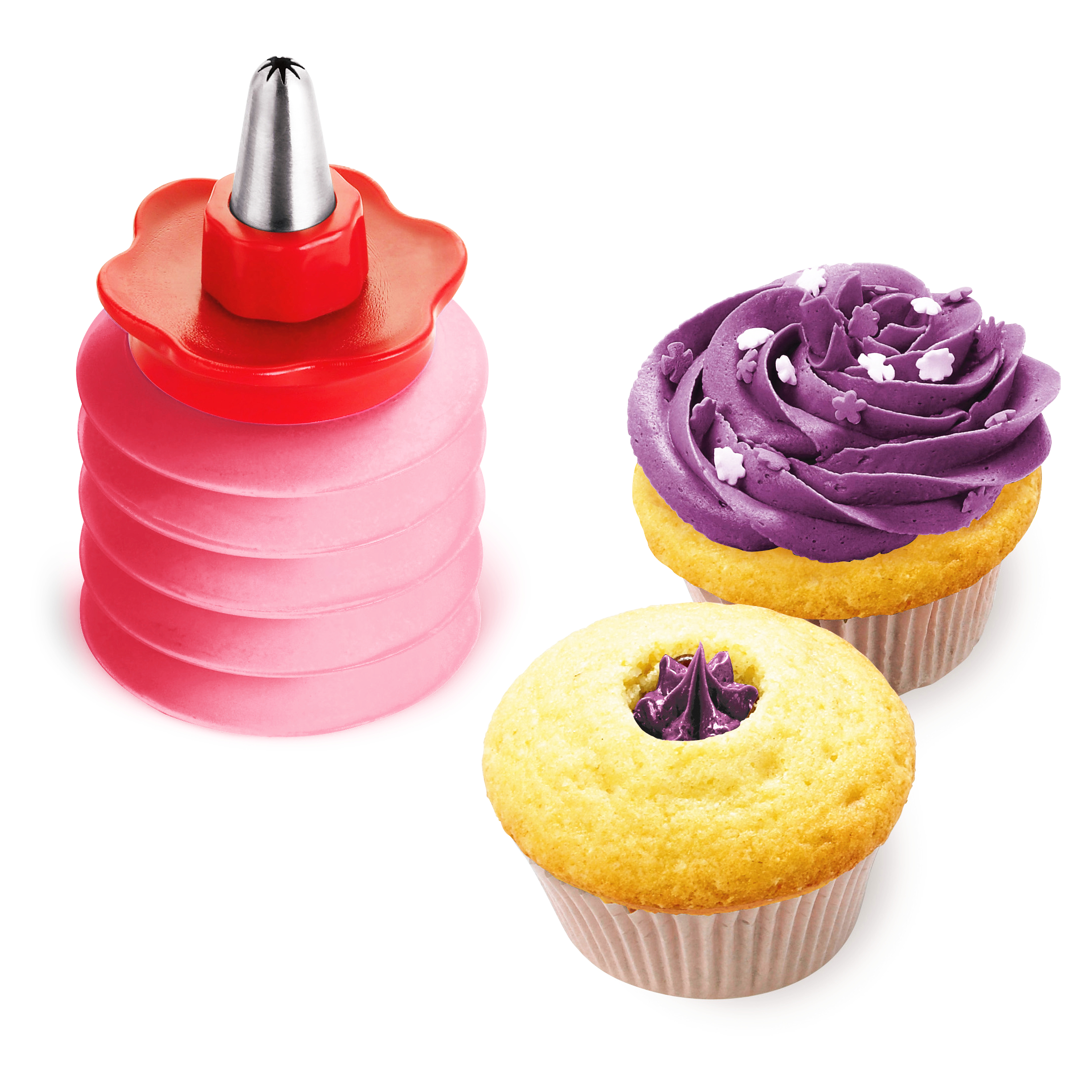 Cuisipro Icing Bottle With Floral Tip