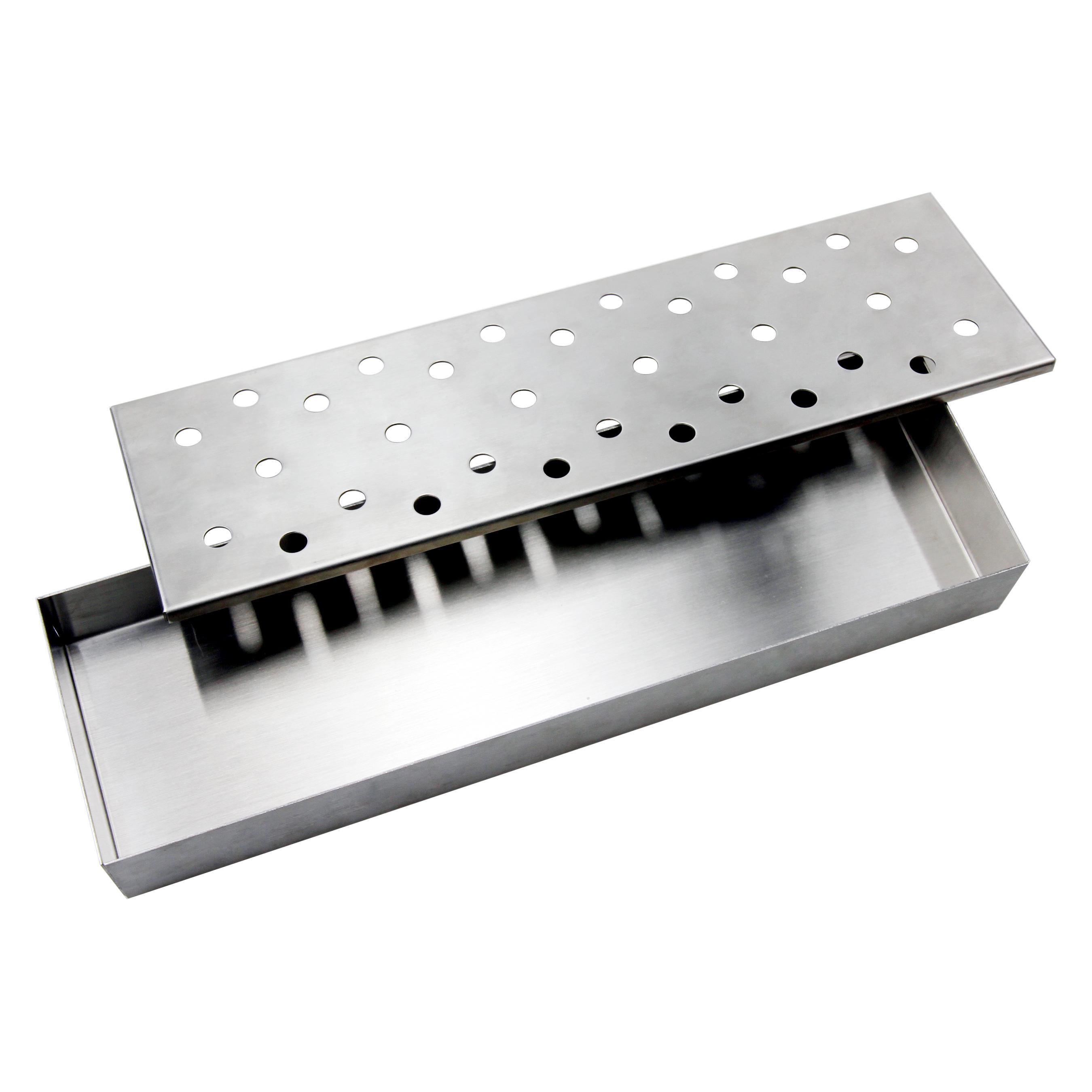 Man Law Stainless Steel Smoker Box