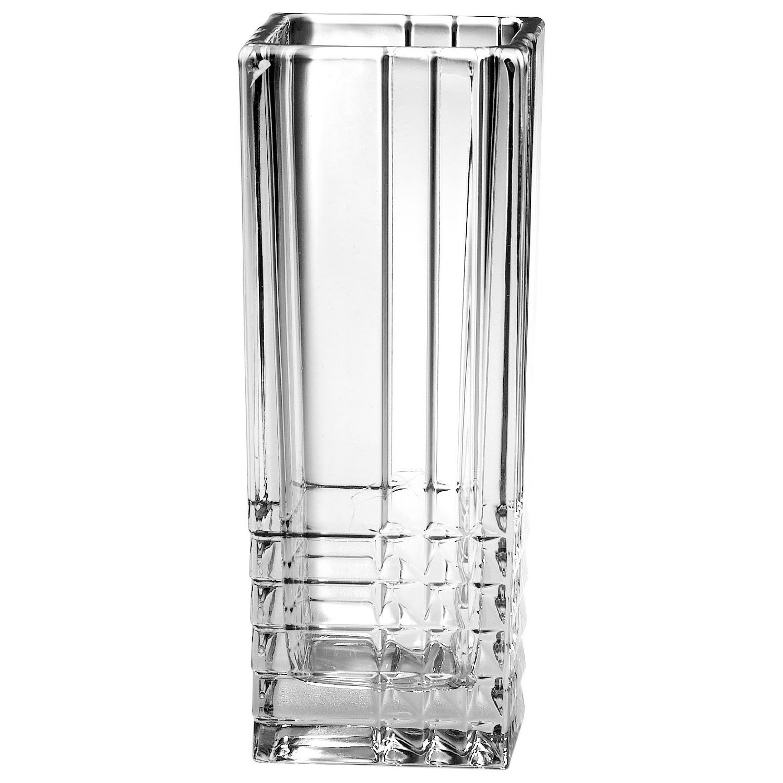 Bormioli Rocco Duemila 2000 Glass Square Flower Vase