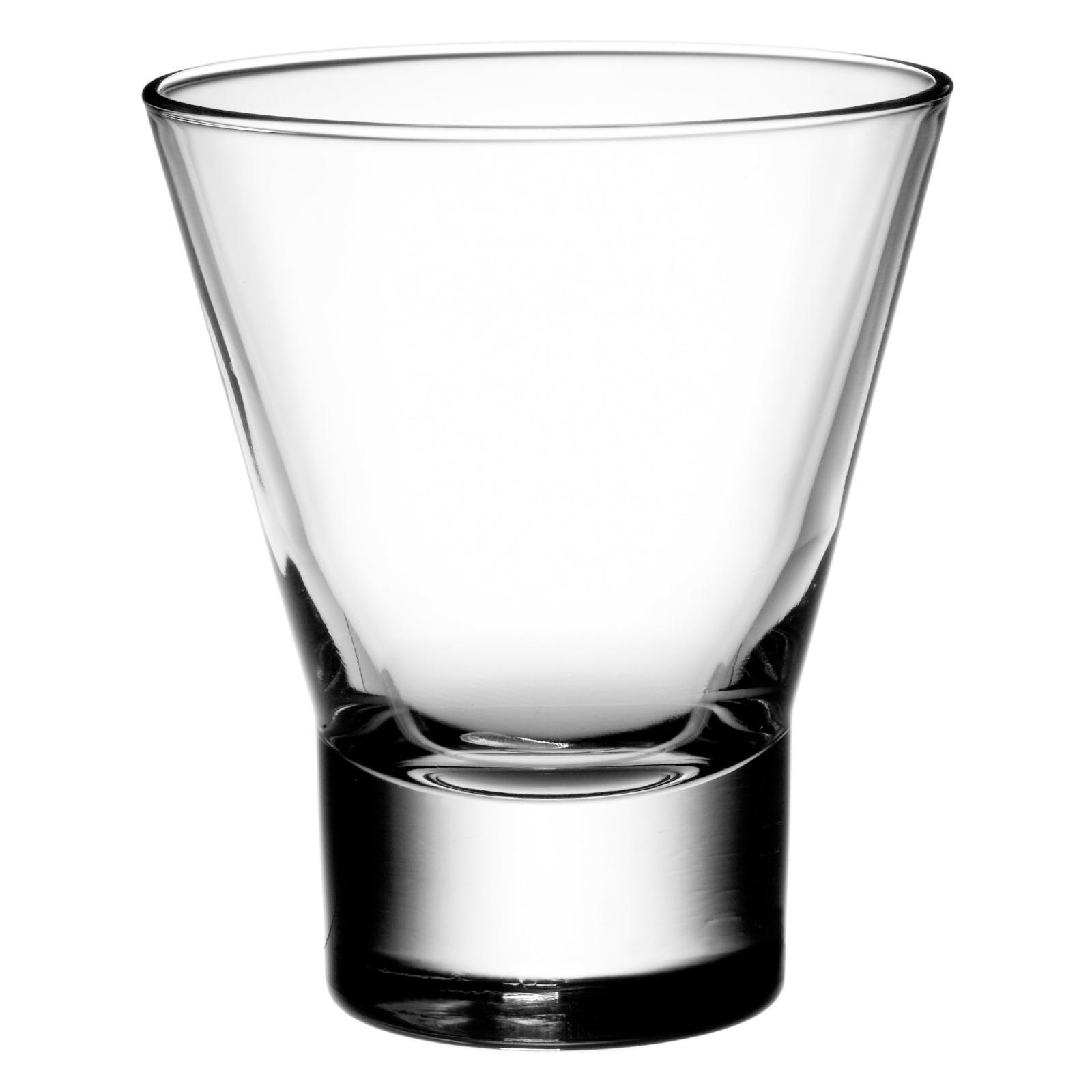 Bormioli Rocco Ypsilon 8.5 Ounce Rocks Glass, Set of 4
