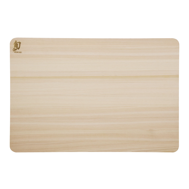 Shun Hinoki Wood Large 17.75 x 11.75 Inch Cutting Board