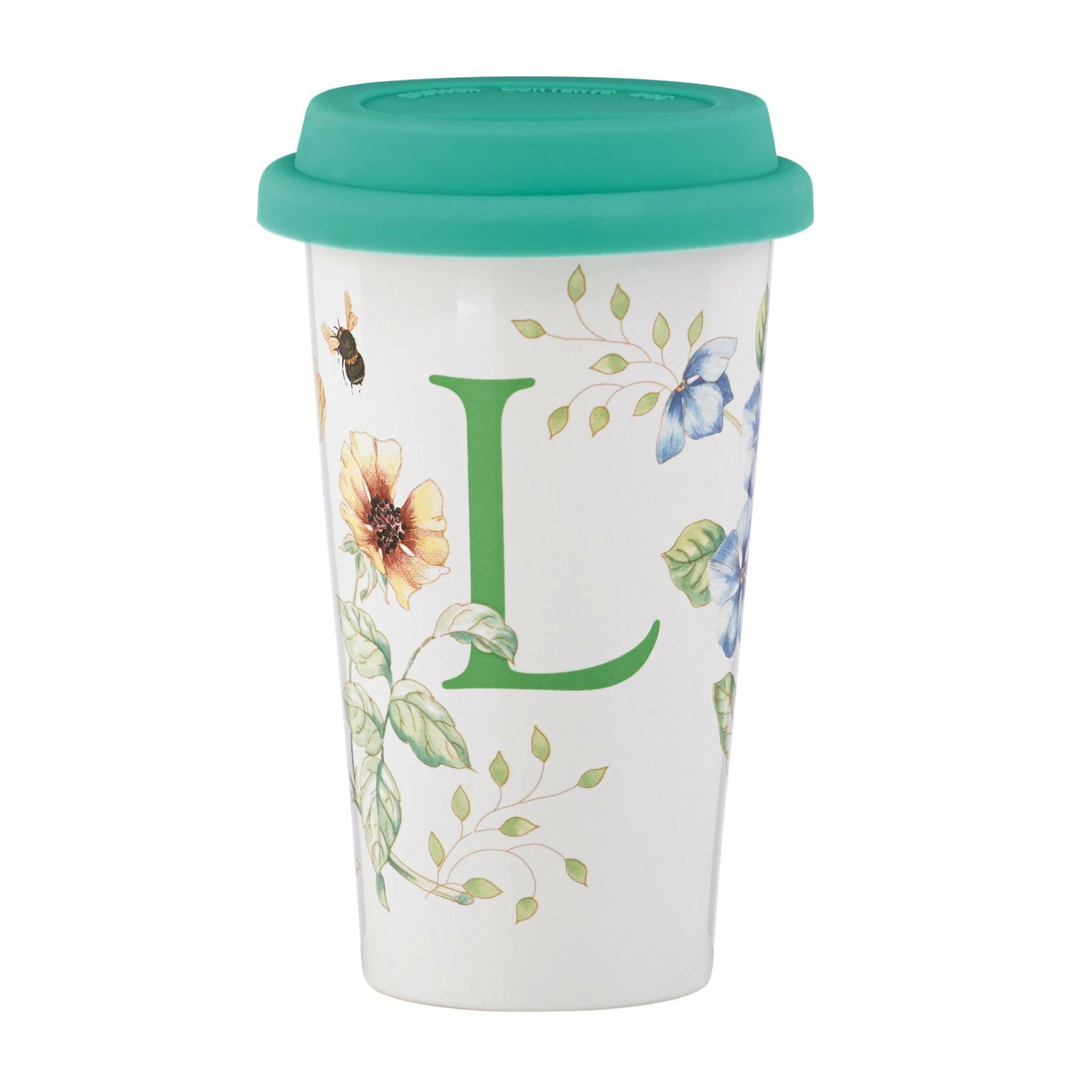 Lenox Butterfly Meadow L 12 Ounce Thermal Travel Mug