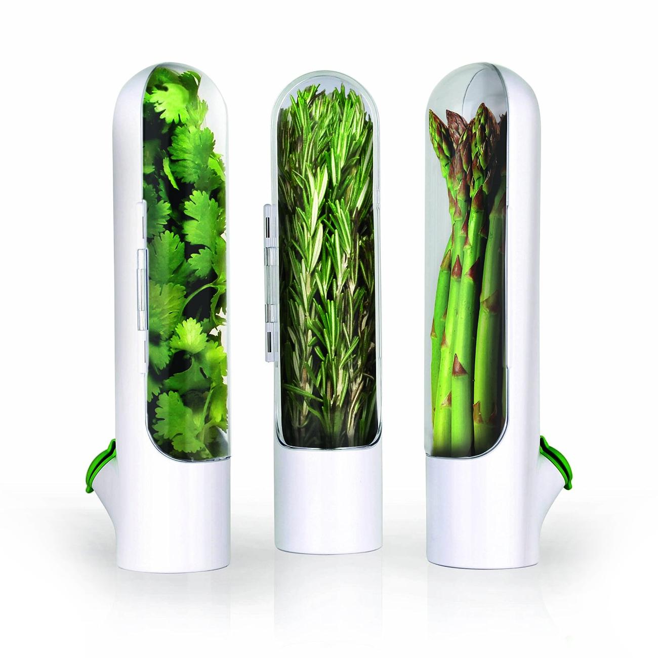 Prepara White Mini Herb-Savor Pod 2.0, Set of 3