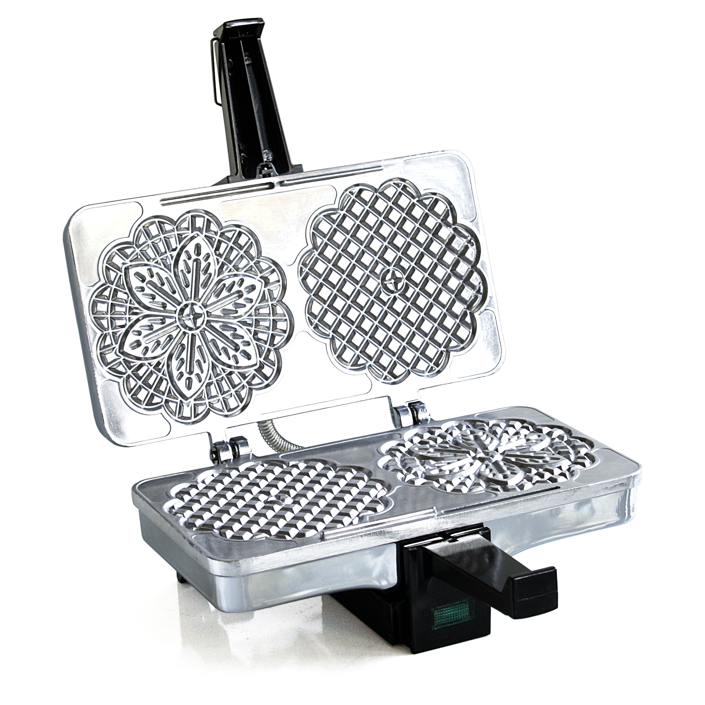 Cucina Pro Polished Nonstick Electric Pizzelle Baker