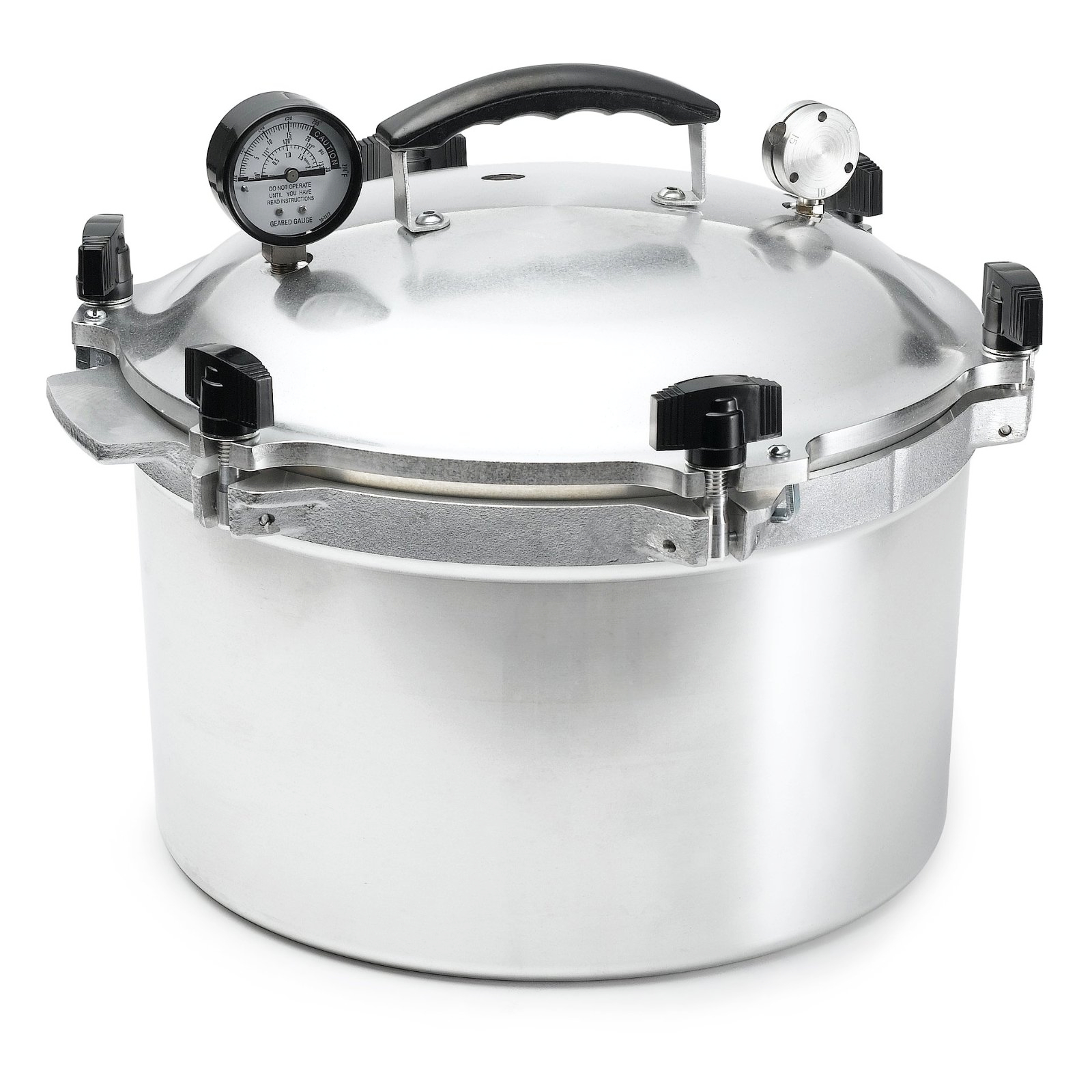 All American 15.5 Quart Metal Pressure Cooker and Canner