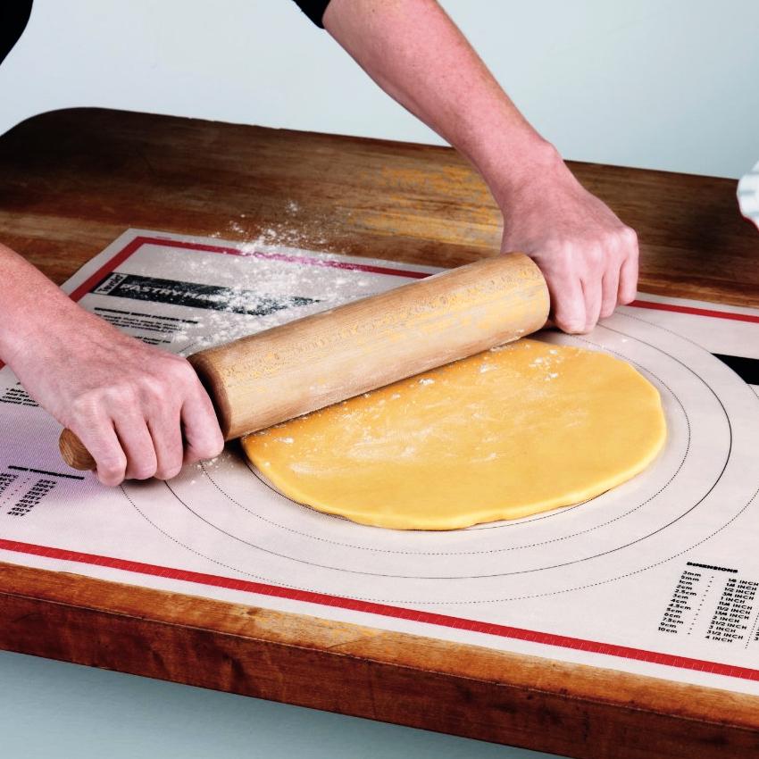 Tovolo Nonstick Silicone Pastry Prep 18 x 25 Inch Mat