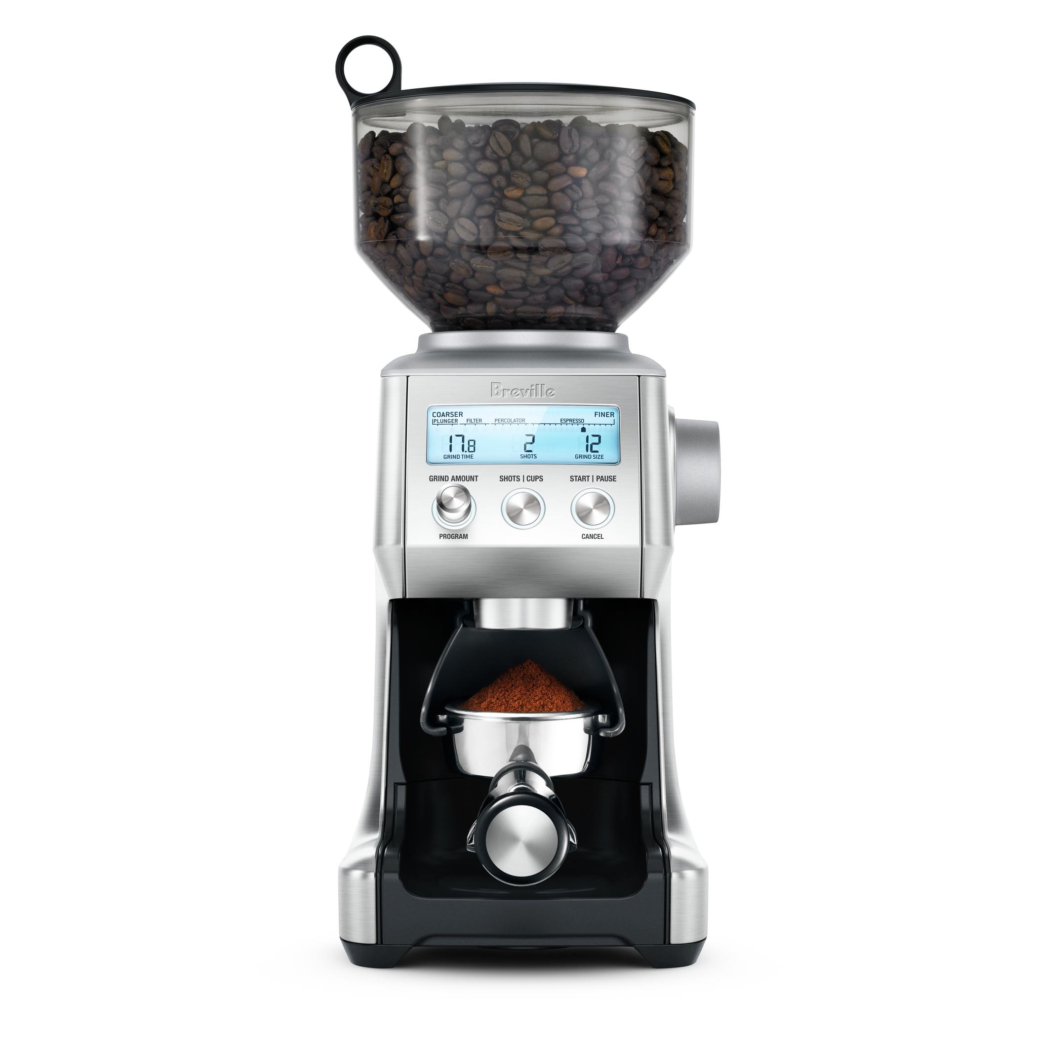 Breville Smart Grinder Pro Stainless Steel Espresso Grinder