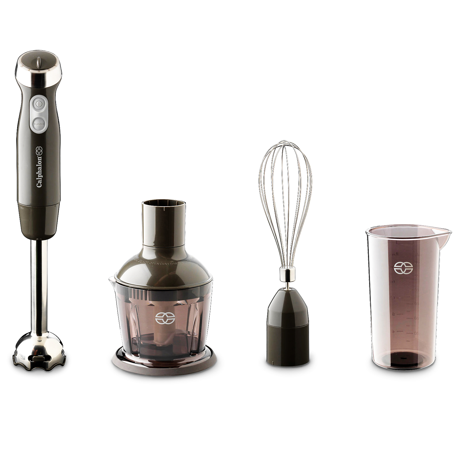 Calphalon Brushed Stainless Steel 3 in 1 Immersion Blender