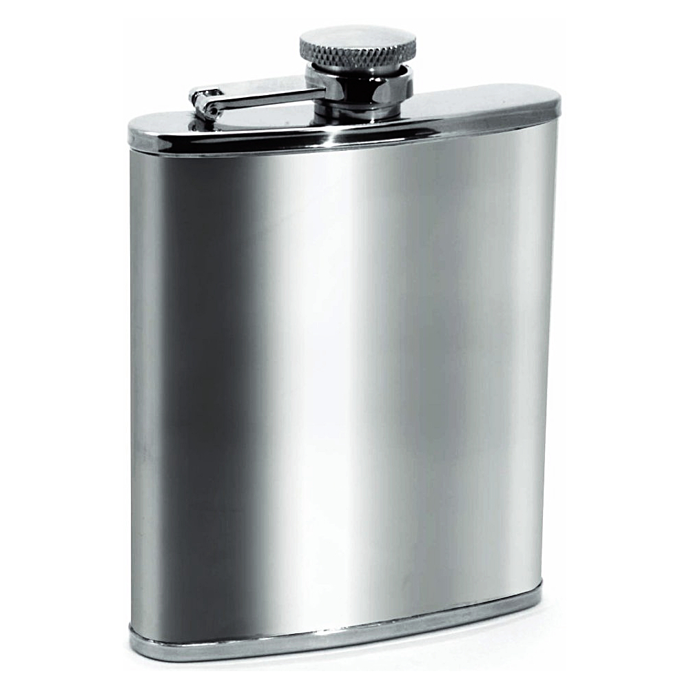 Houdini Stainless Steel 6 Ounce Pocket Flask