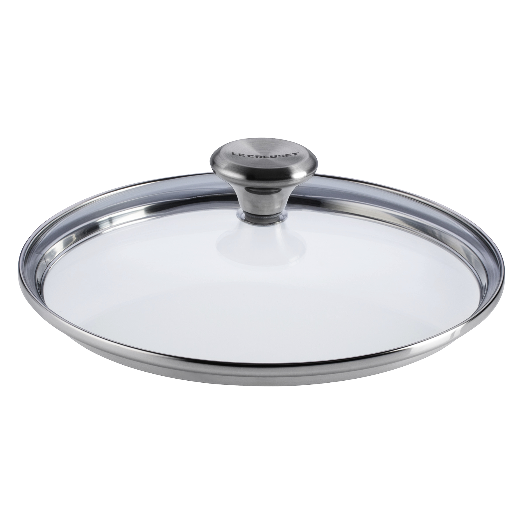 Le Creuset Signature 8 Inch Tempered Glass Lid with Stainless Steel Knob