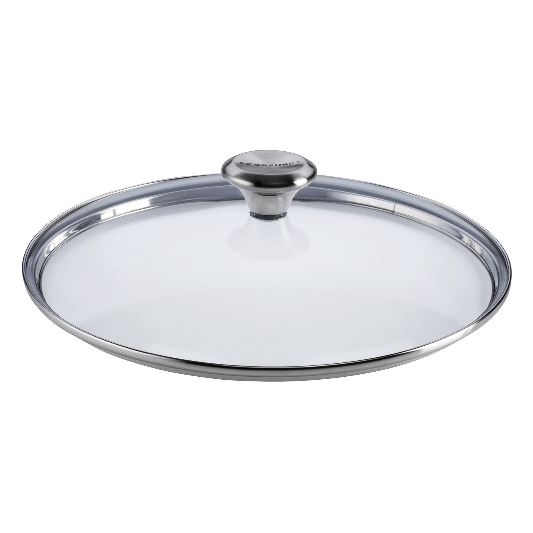 Le Creuset Signature Tempered Glass Lid with Knob Handle For 11 Inch Stainless Steel or Nonstick Fry Pan