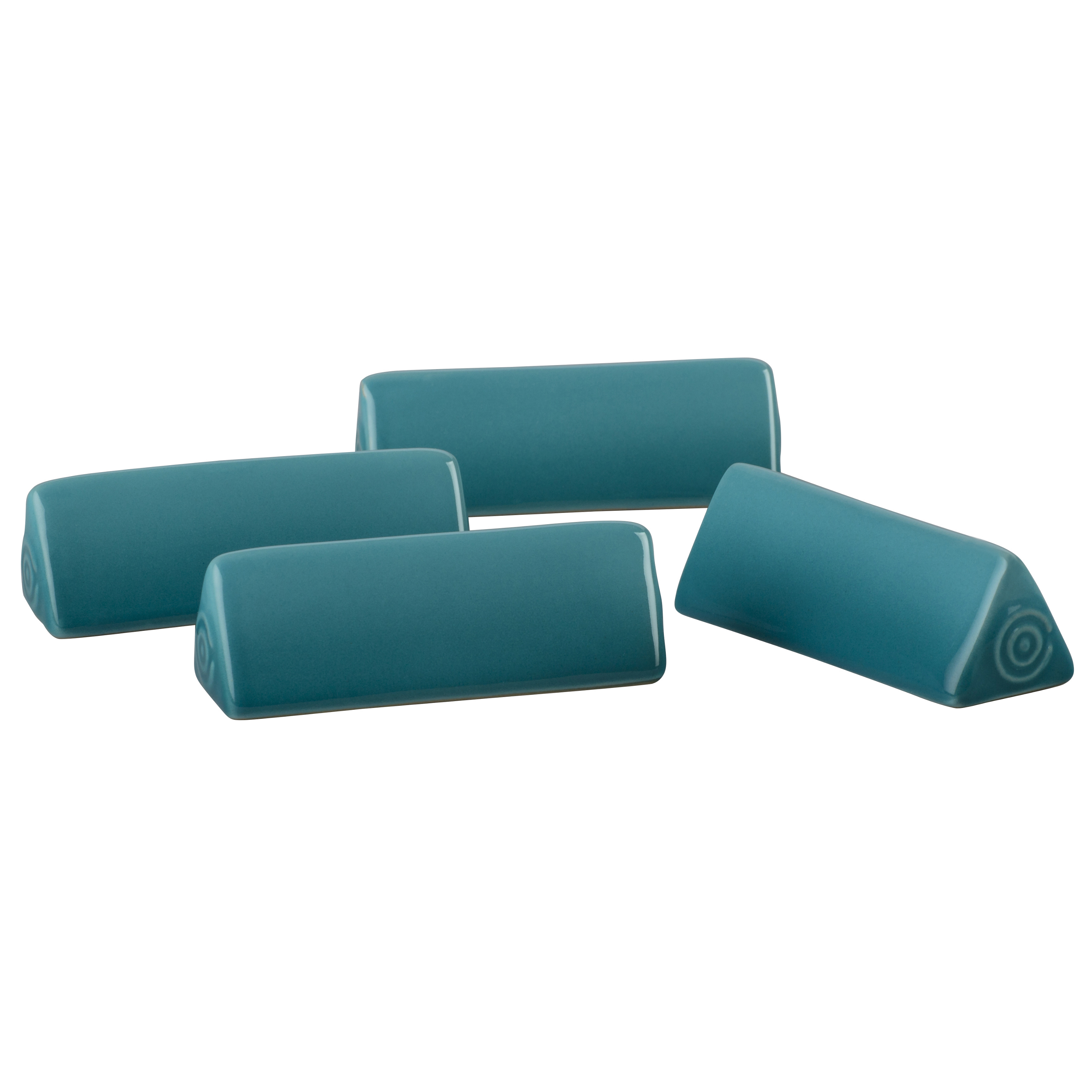 Le Creuset Caribbean Stoneware Cheese Marker, Set of 4