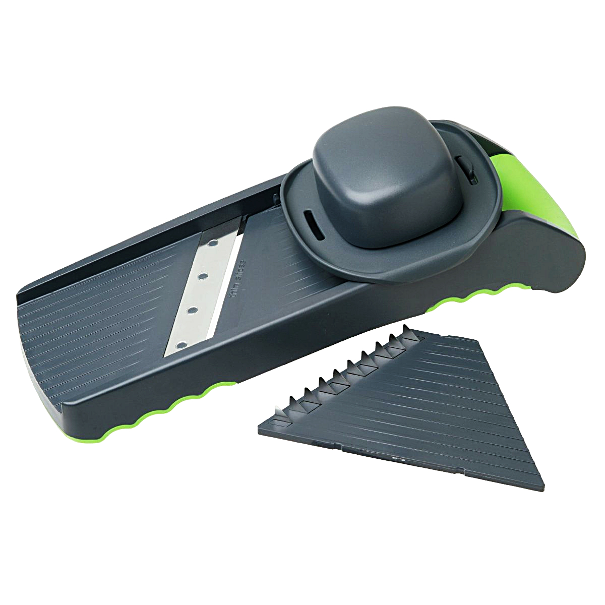 Prepworks Stainless Steel Grey and Green Multi Slicer
