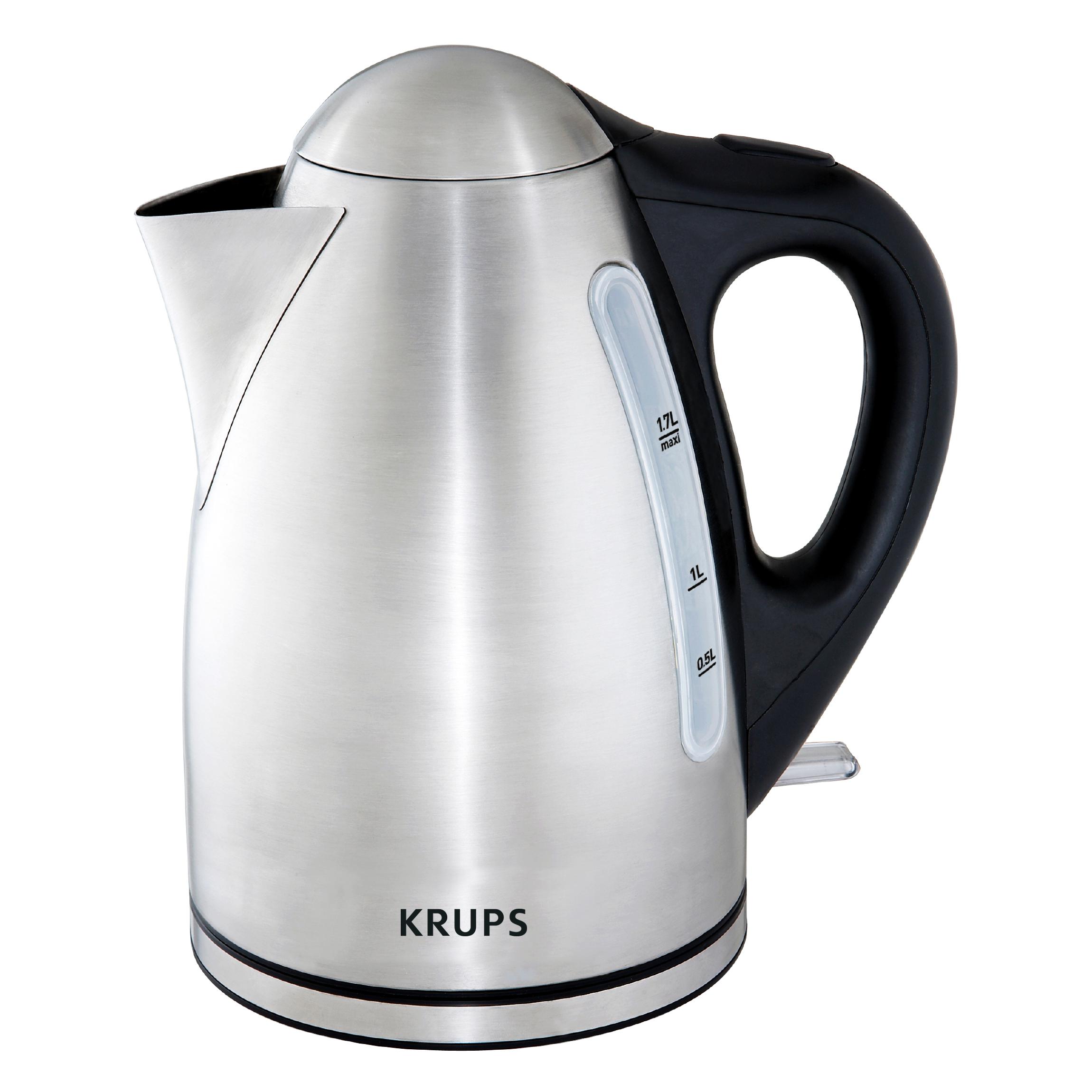 Krups Performa Stainless Steel 1.7 Liter Kettle