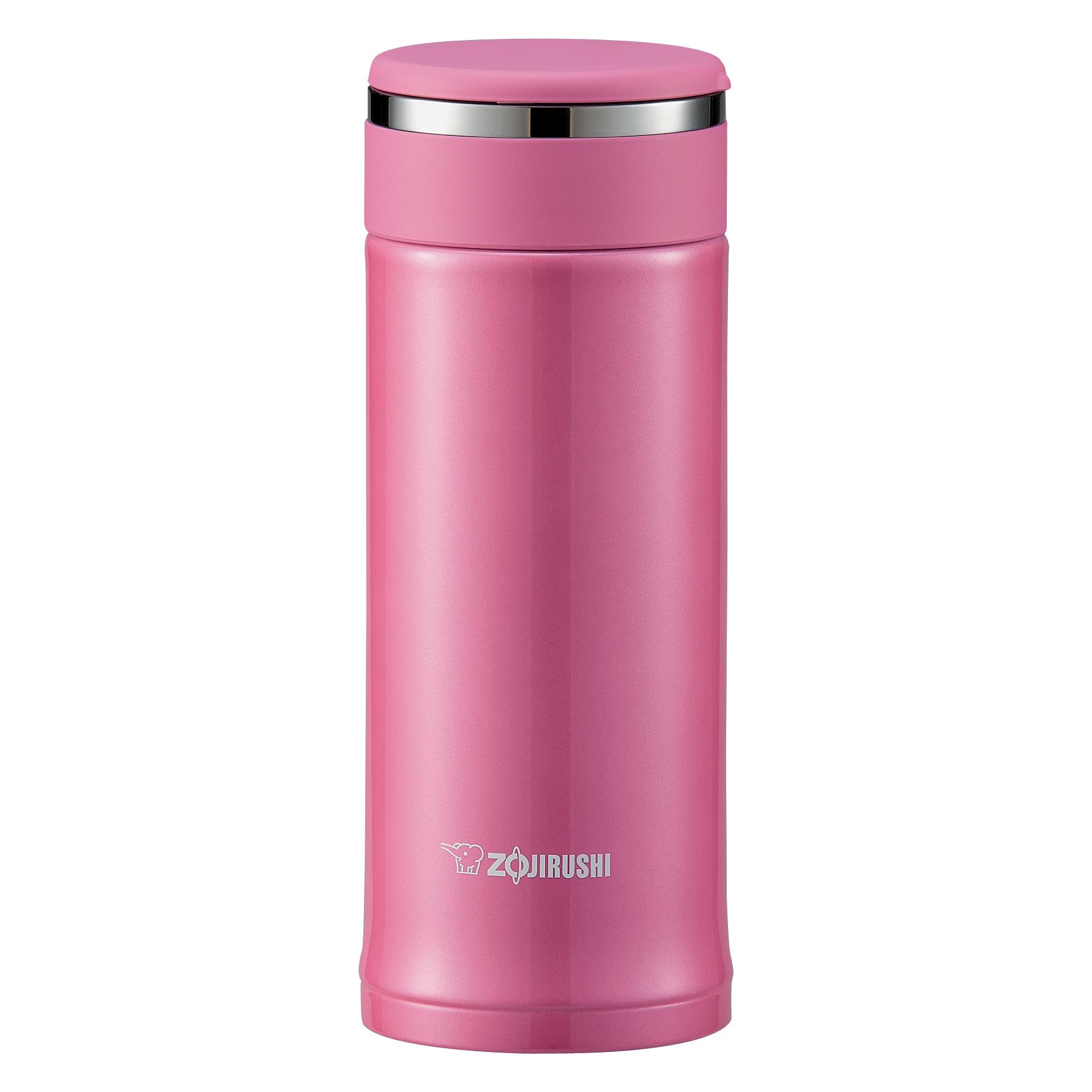 Zojirushi Tuff Pink Stainless Steel 12 Ounce Mug