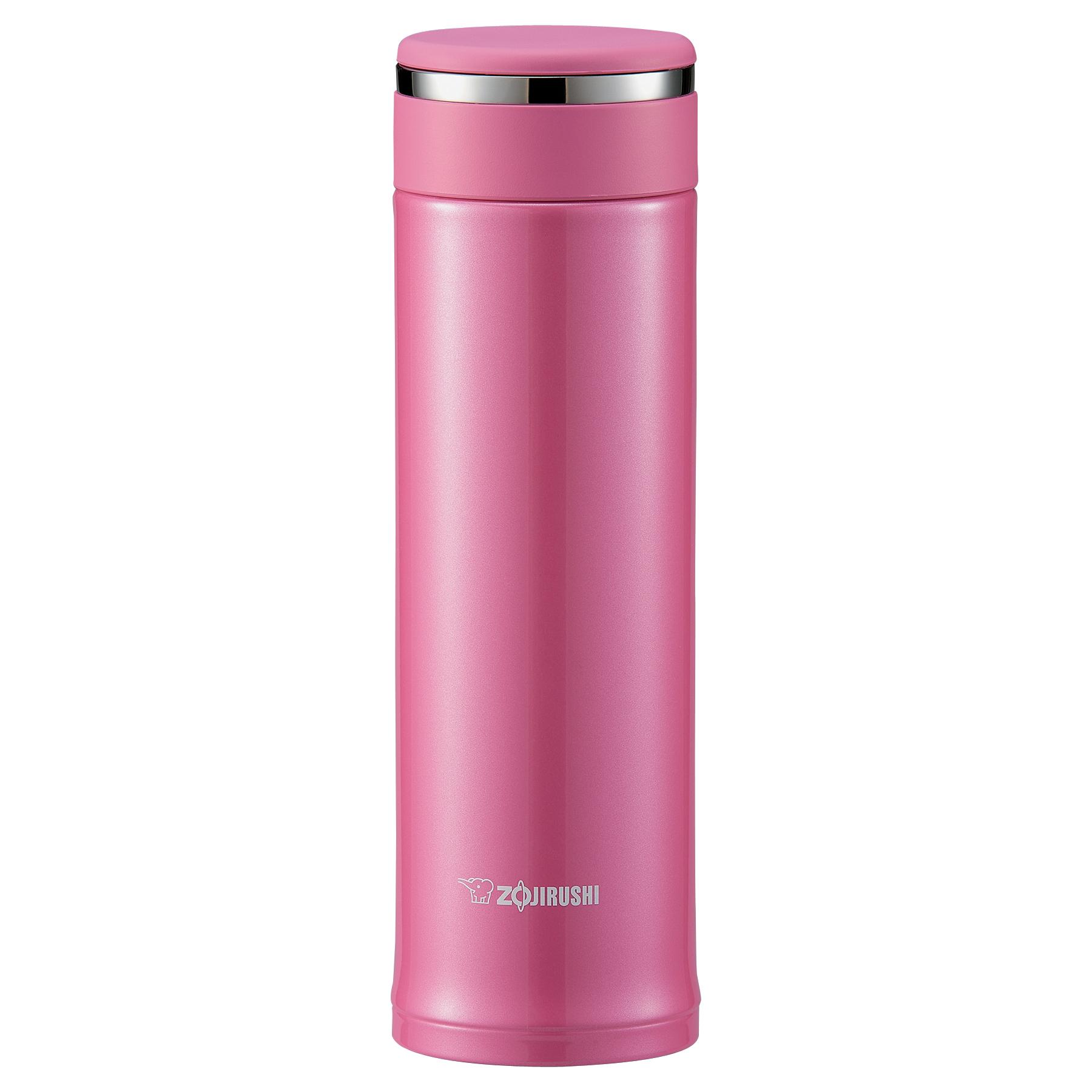 Zojirushi Tuff Pink Stainless Steel 16 Ounce Mug