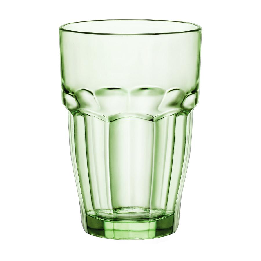 Bormioli Rocco Rock Bar Lounge Mint 12.5 Ounce Long Drink Glass