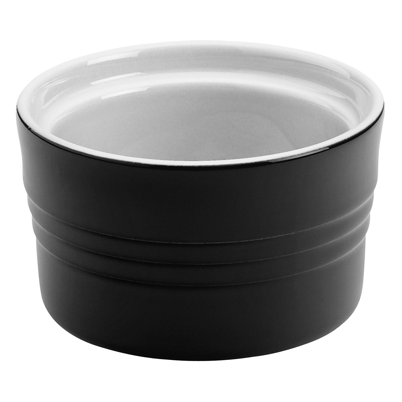 Le Creuset Black Onyx Stoneware Stack-able 7 Ounce Ramekin