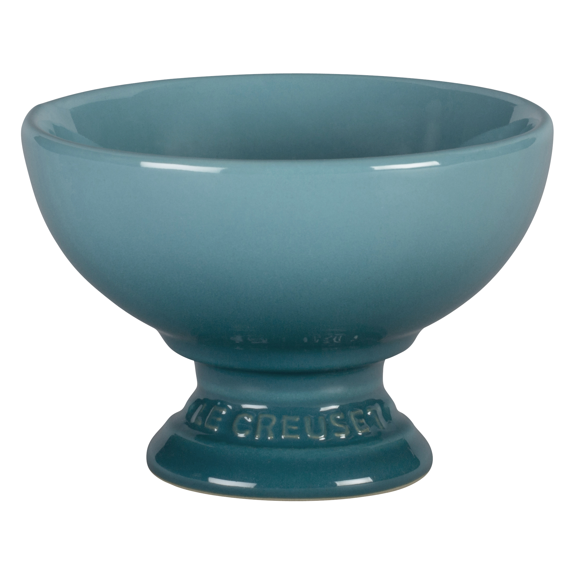 Le Creuset Caribbean Stoneware Footed Ice Cream Bowl