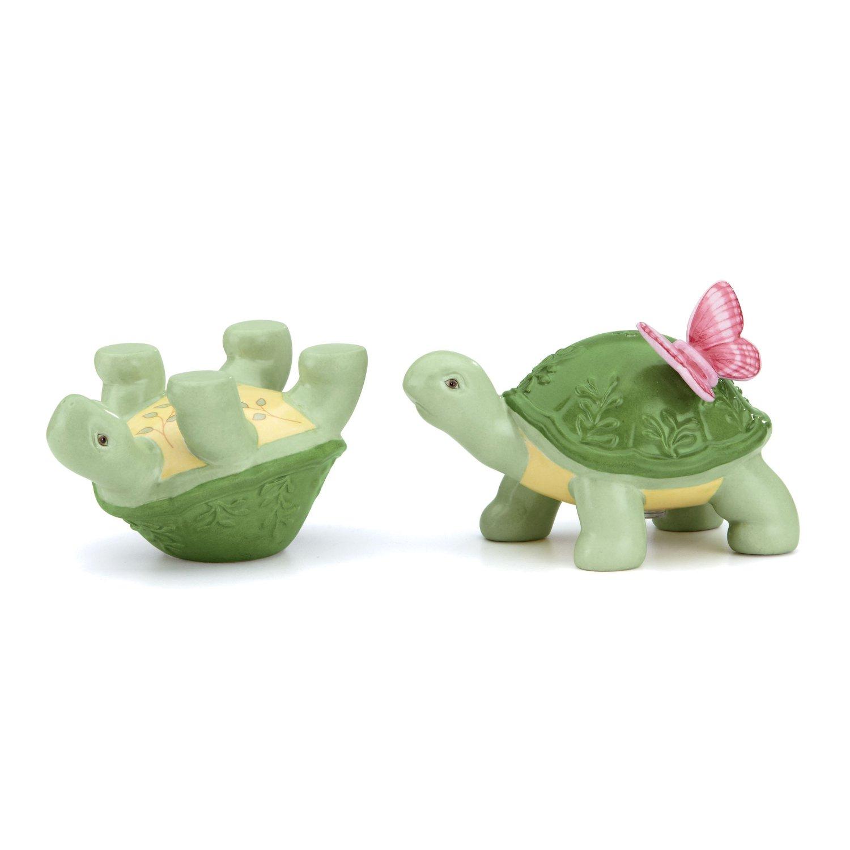 Butterfly Meadow Turtle Salt & Pepper Shaker Set