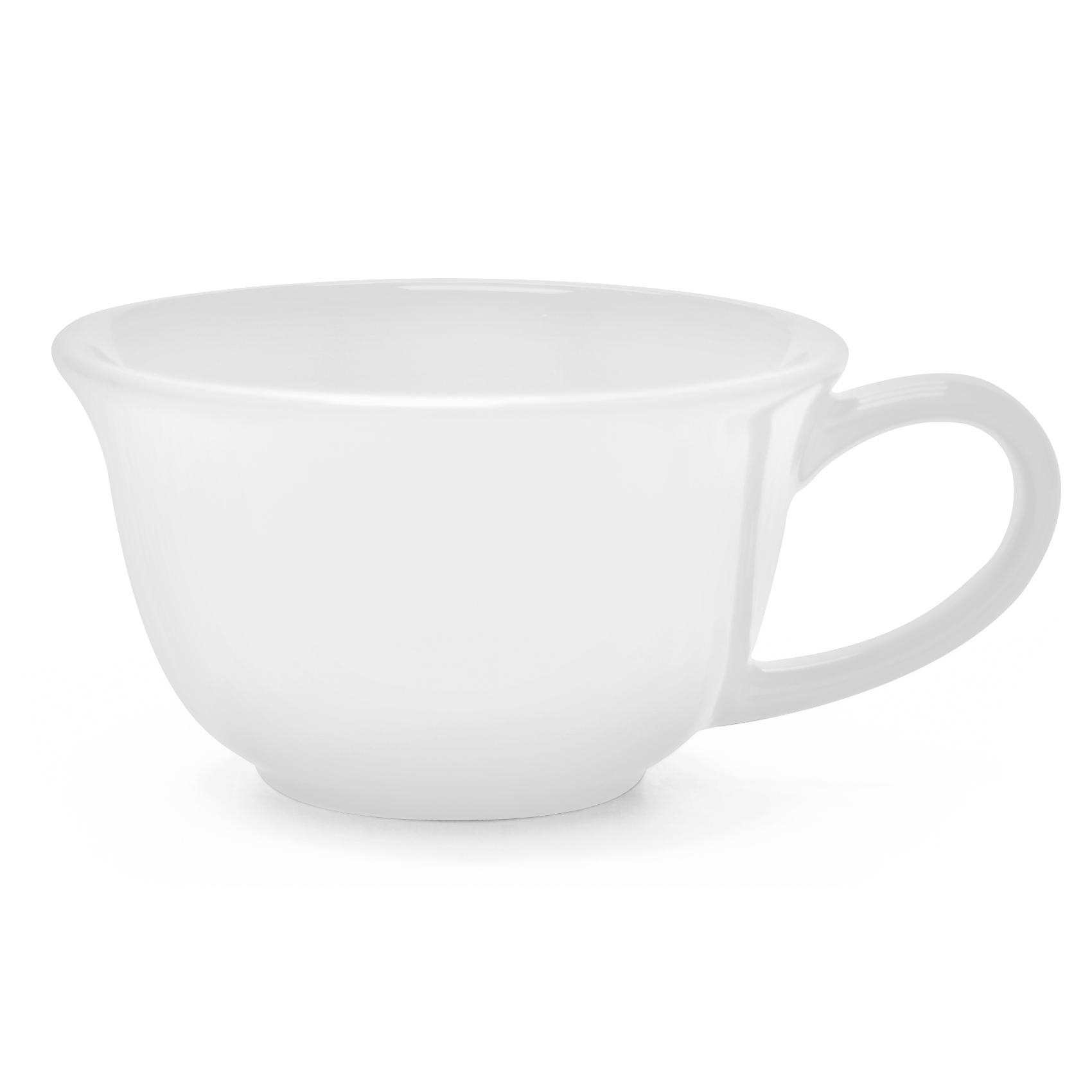 Chantal White 8 Ounce Tea Lover's Mug