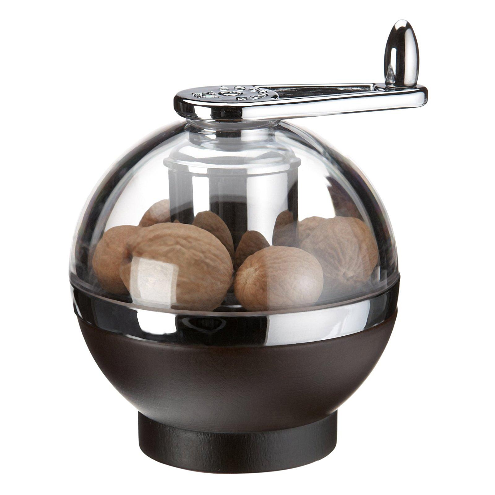 Peugeot Amboine Chocolate Beech Wood 3.5 Inch Nutmeg Mill
