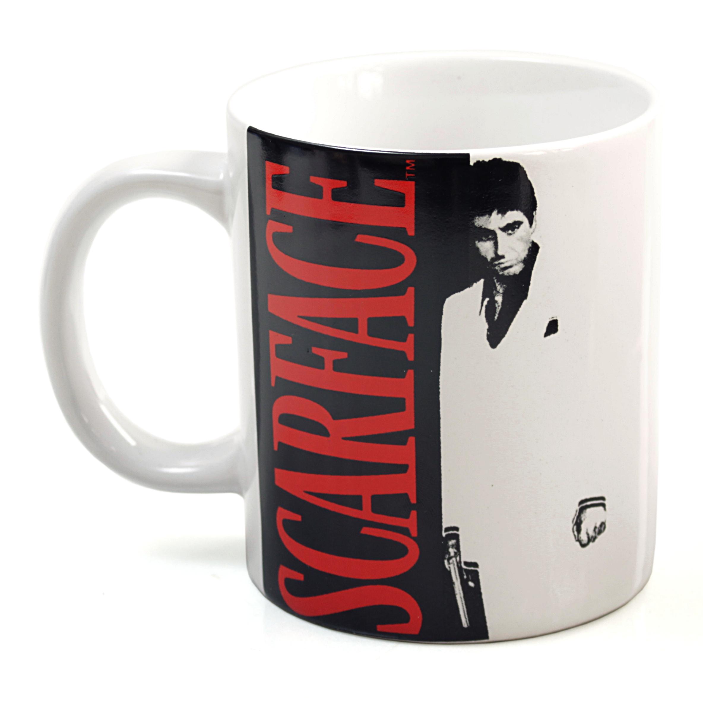 Scarface Movie Ceramic 12 Ounce Coffee Mug