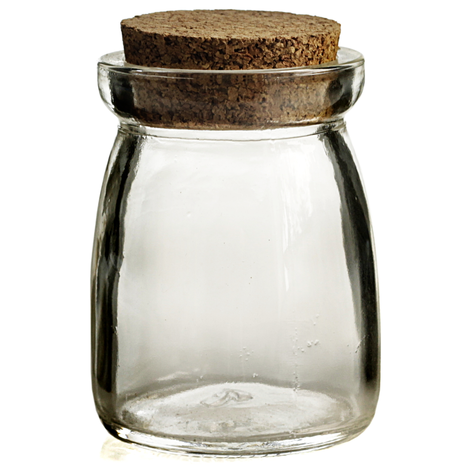 Grant Howard Glass 3.4 Ounce Conical Spice Jar, Set of 12
