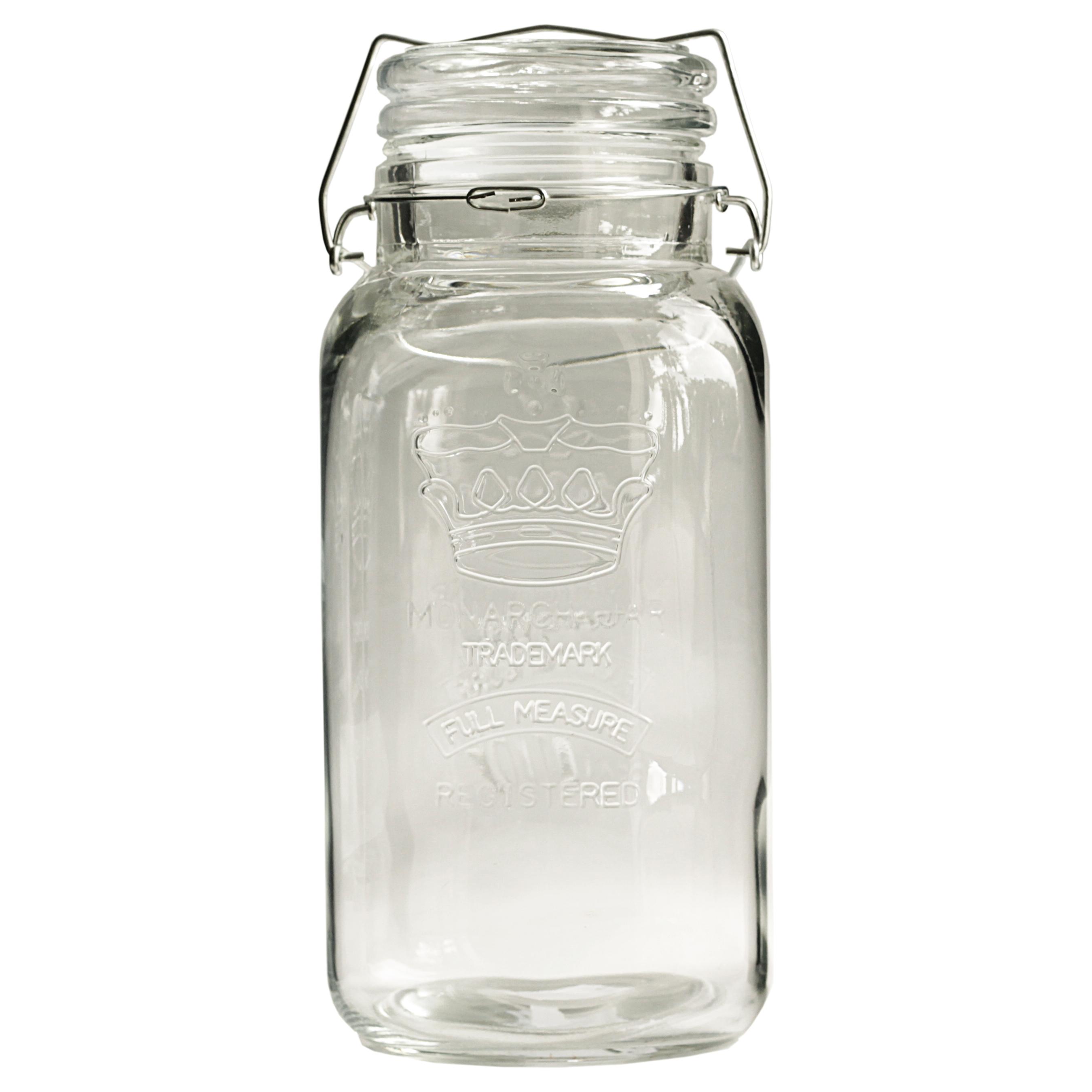 Grant Howard Bail and Trigger Regal Embossed 136 Ounce Jumbo Jar