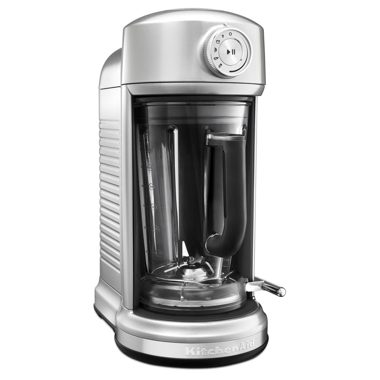 KitchenAid Torrent Sugar Pearl Silver Magnetic Drive Blender