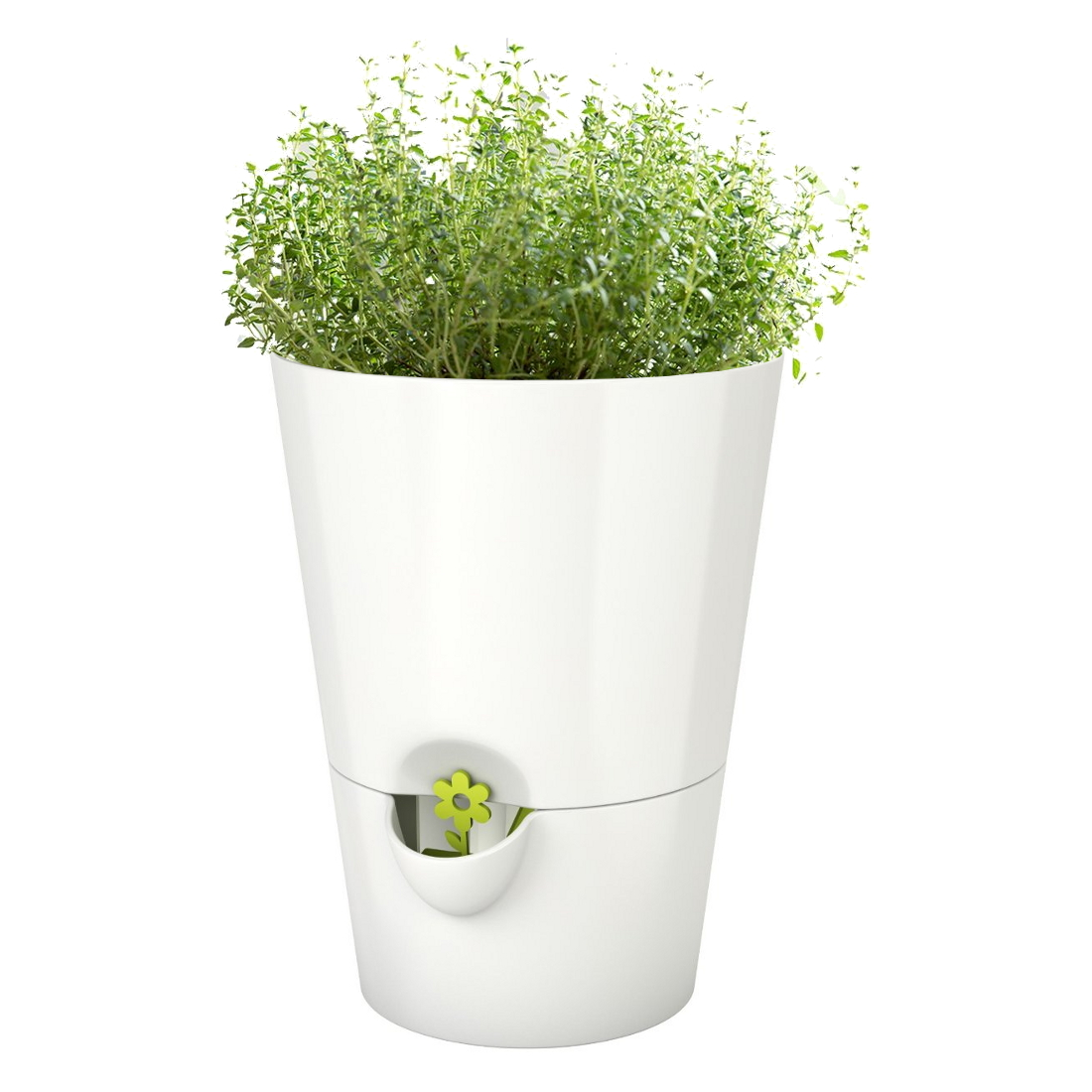 Emsa Smart Planter White 6.5 Inch Herb Grower