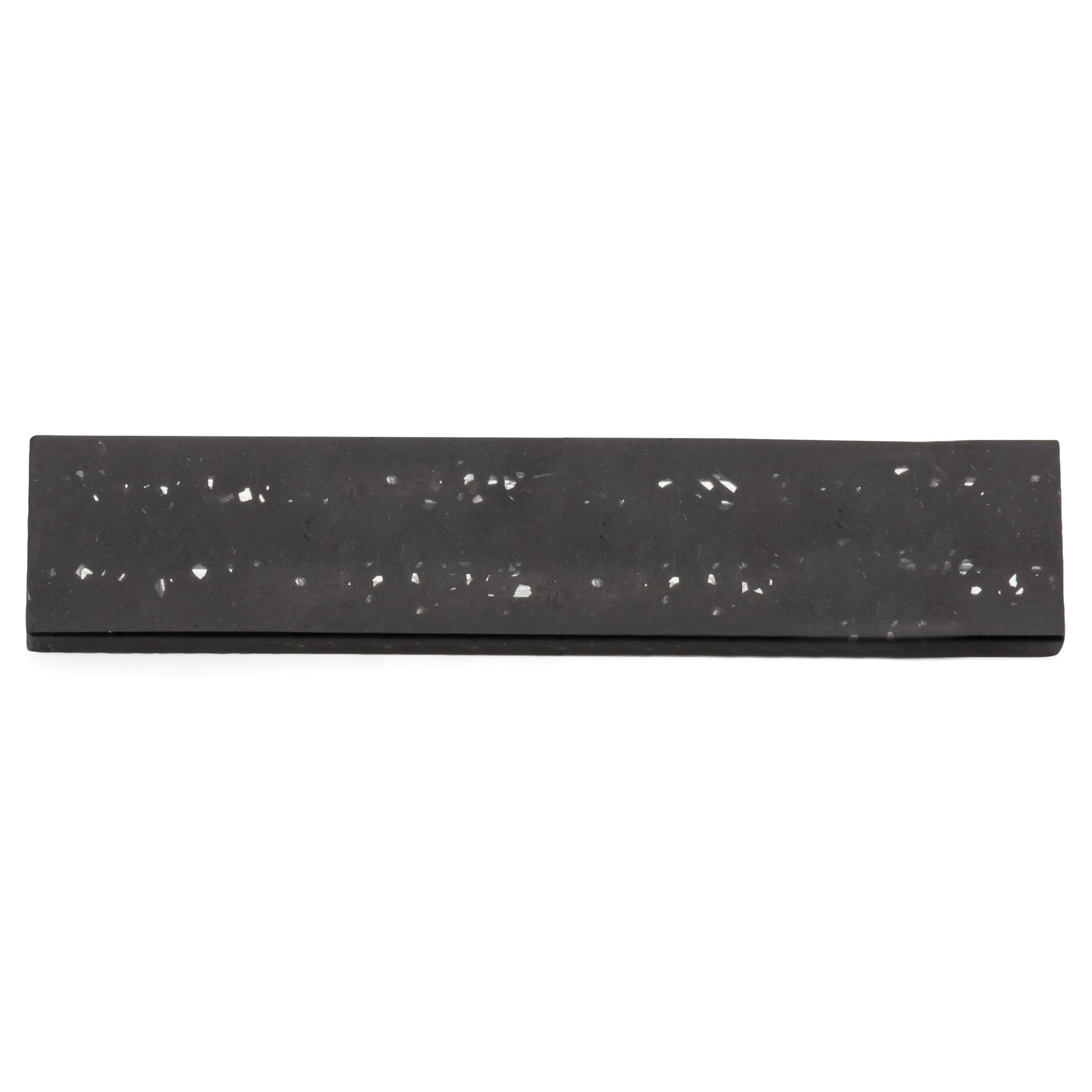 RSVP Black Quartz Stone 10 Inch Magnetic Knife Bar