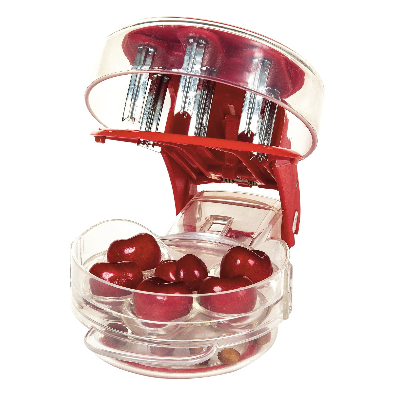 Progressive Prepworks Red Cherry Pitter
