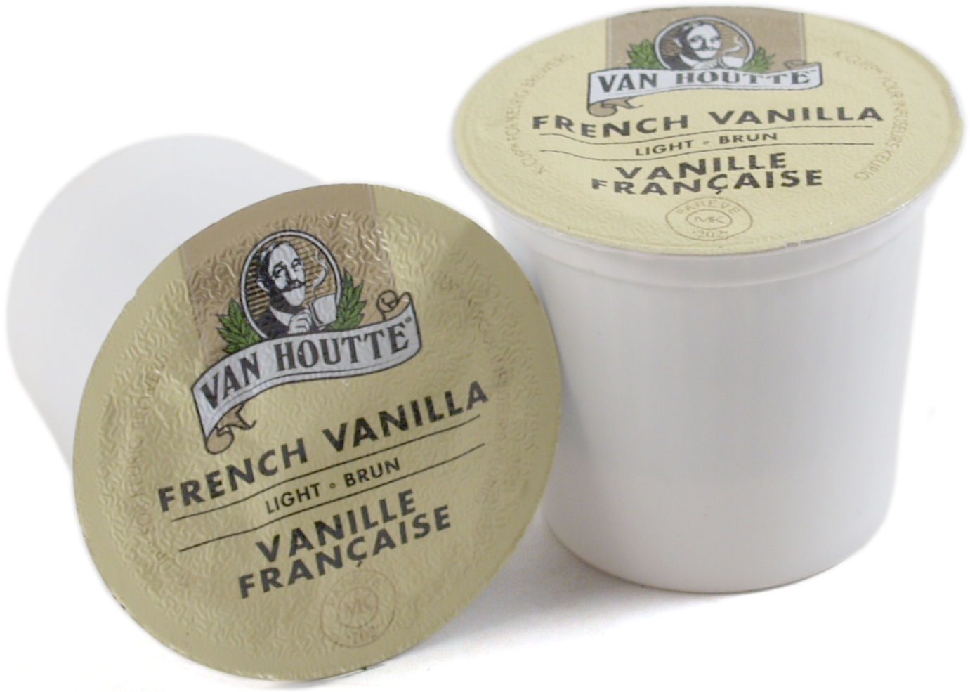 Van Houtte French Vanilla Coffee Keurig K-Cups, 180 Count